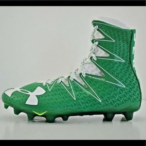 NEW Under Armour Highlight Football Cleats Green